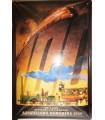 """Placa vintage """"Ausstellung Nurnberg"""" (30x20cm)"""