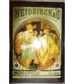 "Placa vintage ""Heidsieck"" (30x20cm)"